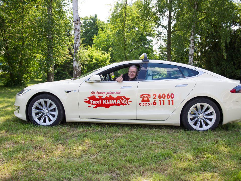 Taxi Klima GmbH - Tesla Model S